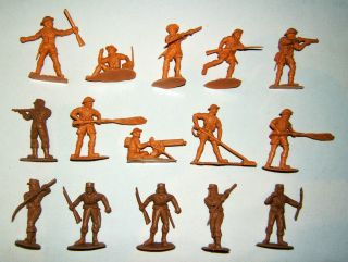 Vintage,  Timpo Action Packs,  Wwii,  French Legion And British Eighth Army,  1:32. Bild