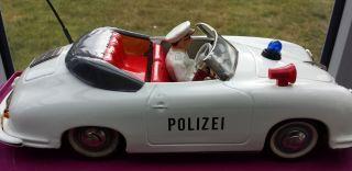 Fahrerfigur Für Polizeiporsche 356 Von Distler Bild