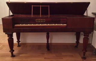 Top Collard& Collard Tafelklavier Clementi Square Piano Fortepiano Hammerflügel Bild