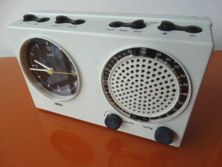 Braun Design Clock Radio Abr 21 Uhrenradio Wecker Rare 4840 Bild