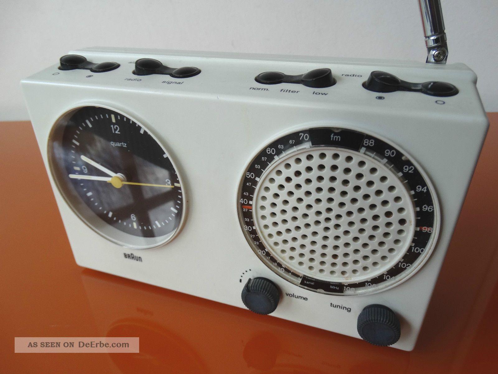 Braun Design Clock Radio Abr 21 Uhrenradio Wecker Rare 4840