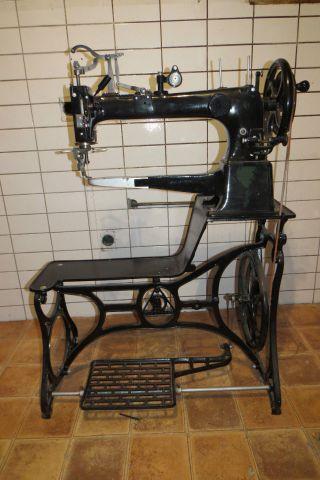 Alte Schuster Nähmaschine,  Dürkopp,  Sattler, Bild