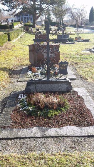 Schmiedeeisernes Grabkreuz,  Sehr Gut Erhalten Bild