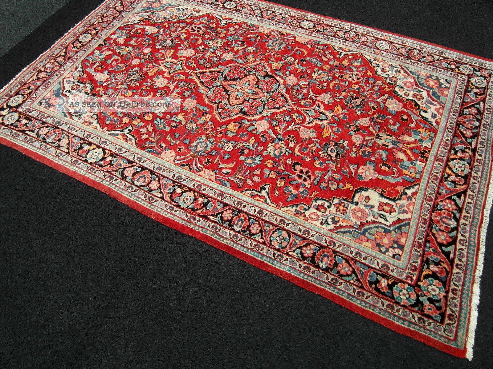 Alter orient teppich rot 324 x 213 cm perserteppich old - Tapis 200x140 ...