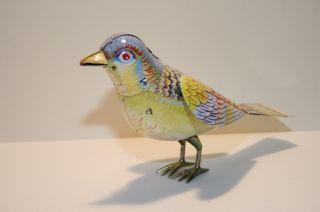 Blechspielzeug - Singender Vogel Singing Bird Mit Federwerk Bild