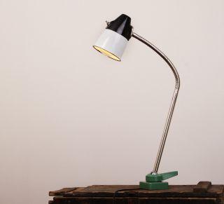 Fabriklampe Industrie Tischlampe Schreibtischlampe Loft Von Werkzeugmaschine Bild