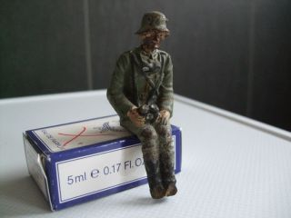 Lineol Soldat Adjutant Sitzend Für Fahrzeuge Bild