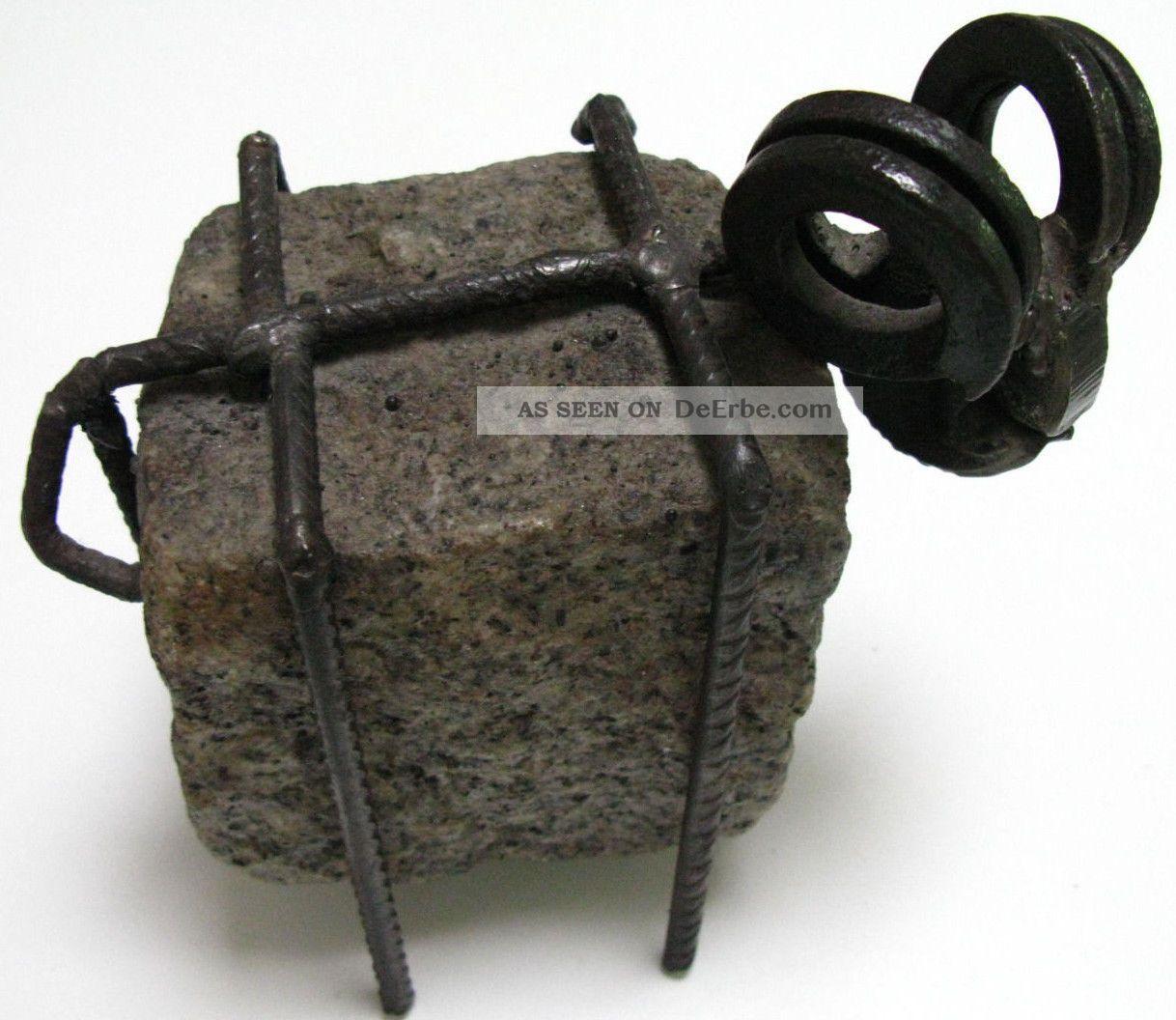 skulptur steinbock