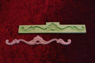 Silikonform Negativform Gießform Für Gips Stuck Verzierung Dekor Relief 18 Bild