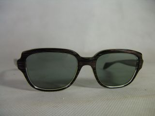 Alte Brille Vintage Brillengestell Gestell 50er Jahre Hornbrille True Glasses Bild