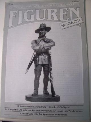 Figurenmagazin Zu Elastolin Lineol Masse & Kunststofffiguren Ausgabe 1992/3 Bild