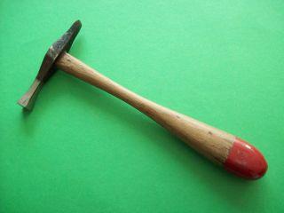 Kleiner Hammer 130 G - Schlichthammer Schmiedehammer Schmied Kfz Altes Werkzeug Bild