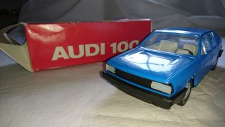 Blech - Und Plastikspielzeug Friktion Audi 100l Avant Bild