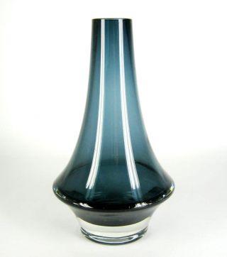 Lasi Oy Riihimäen Glas Vase Finnland Tamara Aladin Design Blau Ca.  20cm Cool Bild