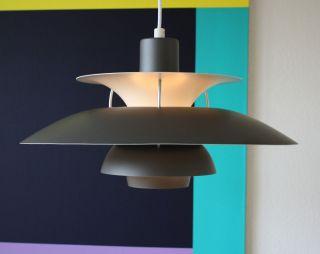 Louis Poulsen Ph 5 Pendelleuchte Pendant Lamp Poul Henningsen Danish Design Bild