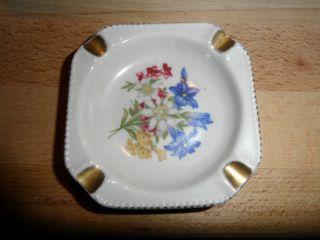 Kleiner Porzellan Aschenbecher; Cottier Feres Switzerland; Gemarked;siehe Bilder Bild