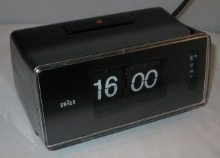 Braun Phase 2 Modell 4934 Klappzahlenwecker Alarm Clock Vintage 70er Rams Lubs Bild