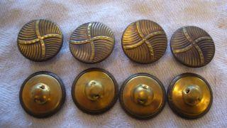 Knöpfe Trachtenknöpfe - - Metallknöpfe - - 100 Stück - - 30er/40er Jahre Bild