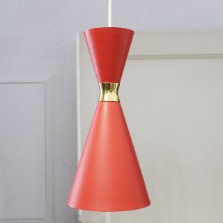 Staff Leuchten Pendelleuchte HÄngelampe X - Linie Lampe Diabolo Stil 50er Jahre Bild