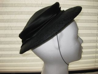 Damen Hut Schwarz Bild