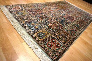 Feiner Felder Kaschmir Seide Orientteppich 154x92cm Rug 5753 Nain Carpet Gom Bild
