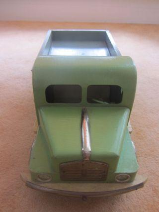 Alter Lkw Holzspielzeug Kipper Vintage 40er 50er 60er Jahre ? Bild