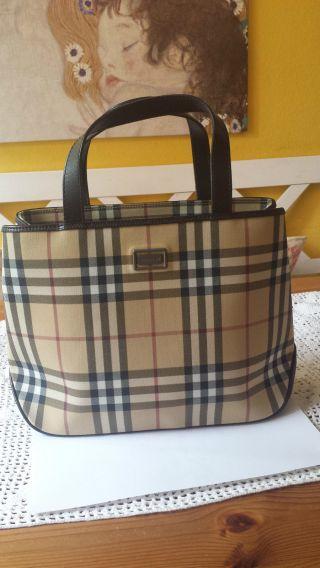 Burberry Damen Tasche Neuwertig Bild