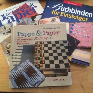 Hobbyauflösung: Paket Zum Thema Buchbinden (bücher & Zubehör) Bild