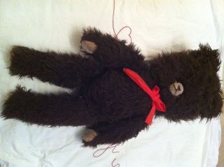 Grośer Teddy,  Teddybär,  Alt Antik Dachbodenfund Bild