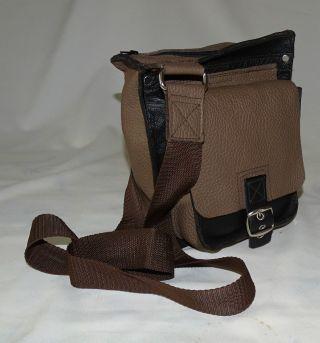 Herren Leder - Tasche Handarbeit - Designer - Unikat Bild