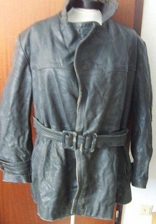 Dachbodenfund Alte Lederjacke Leder Jacke Bild