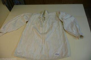 7329.  Alte Leinen Trachtenbluse Bluse Hemd Bild