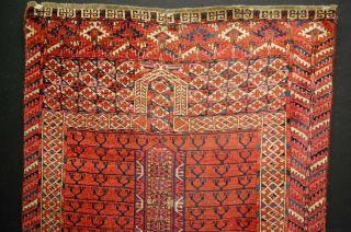 Antiker Teppich TÜrkmen Antique Rug Ca:143x91cm Antico Tappeto Bild