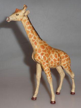Lineol - Elastolin Giraffe Großes Tier Wildtier 30 - 50er Jahre Bild