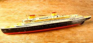 Cko Kellermann 354 Atlantic Ozeandampfer Mit Beibooten Schiff Blechspielzeug Bild