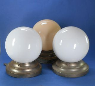 3x Art Deco Lampe / Deckenlampe - 20er / 30er Jahre - Bauhaus Bild