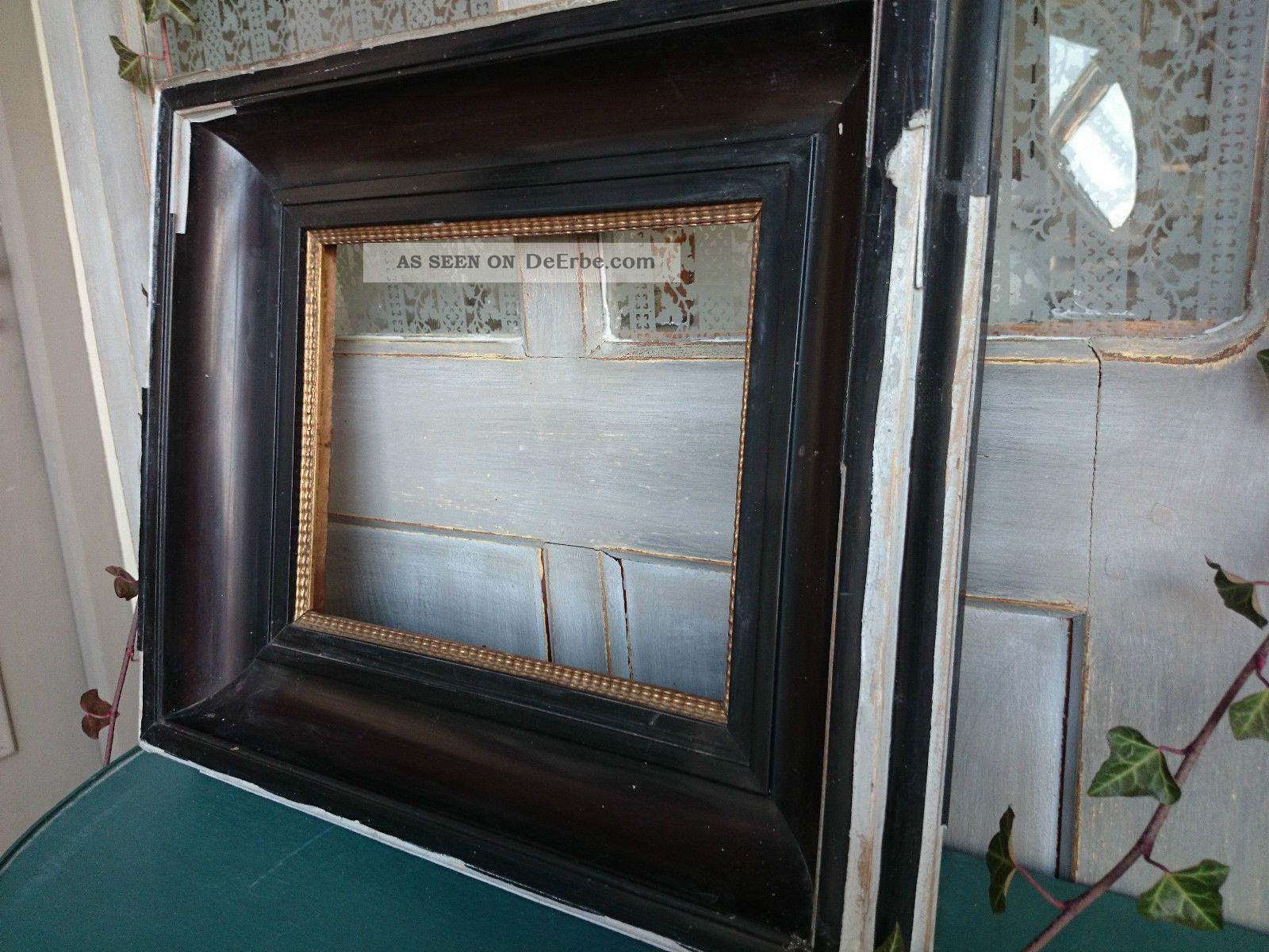 antik schellack bilderrahmen alter biedermeier rahmen. Black Bedroom Furniture Sets. Home Design Ideas