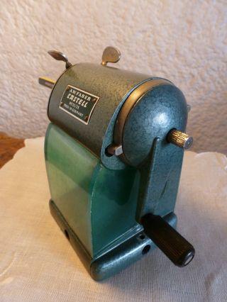 Antiker Bleistiftanspitzer Bleistift - Spitzmaschine Von A.  W.  Faber Castell N 52/25 Bild