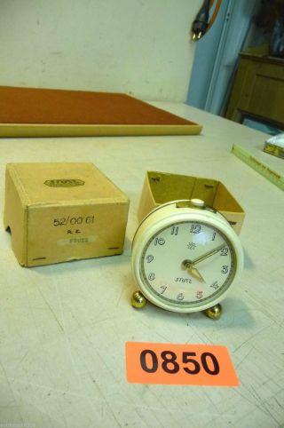 Nr.  0850.  Alte Wecker Tischuhr Deko Wecker Old Alarm Clock Bild