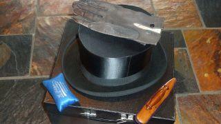 Alter Zylinderhut,  Chapeau Claque,  Klappzylinder Bild