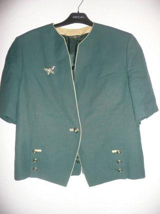 Bluse,  Trachtenbluse,  Trachtenblazer Grün Gr.  40 Von Basler Bild