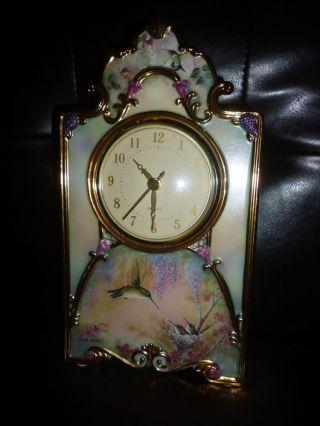 Porzellan Uhr Bild