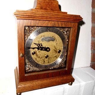 Bracket Clock Kaminuhr Tischuhr Stockuhr Westminster 4/4 Stutzuhr Warmink Wuba Bild