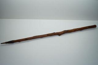 Alter Spazierstock - Aus Den Argonnen 1914 - 16 - Gedrehtes Holz Bild