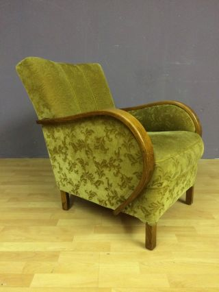 Ob16 - 0004 - Art Deco - Sessel - Easy Chair - Um1930 - 40 Bild