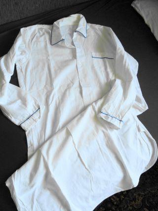 Altes Nachthemd Für Herren 120 Cm Lang Bild