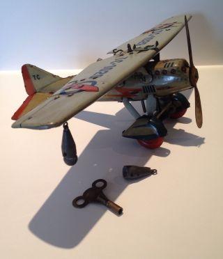 Tippco Tipp&co Flugzeug Tippco Bomber Tc 1029 German Tintoy Ww2 Bild