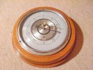 Forster Barometer,  60 Er Jahre,  Edle Optik,  Verchromt Bild