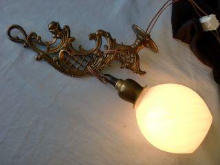 Alte Wandlampe ◄◄ Bild