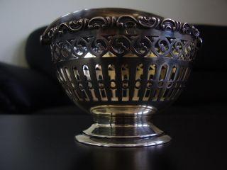 Antikes Silberkörbchen Bild